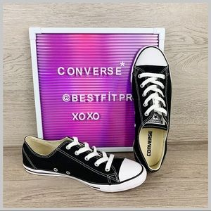 🦋Converse Chuck Taylor All Star Dainty Low Black
